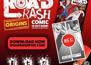 MAGGE GAGLIARDI ILLUSTRATES COMICS SERIES FOR ROAD RASH POD CAST