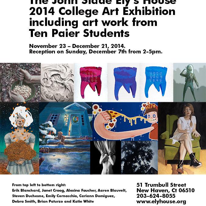 The John Slade Ely's House 2014 Art Exhibition